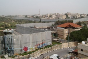 Separation wall in the Israeli-occupied West-Bank