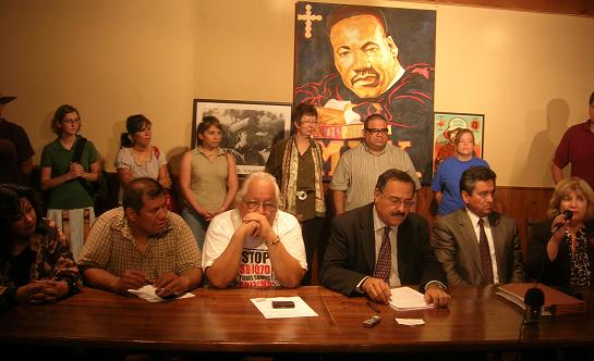 Today's Press Conference in Phoenix in response to the SB1070  decision