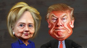 1024px-Hillary_Clinton_vs._Donald_Trump_-_Caricatures