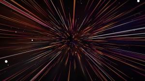 Light Art Star Space Laser Echinoderm Optical
